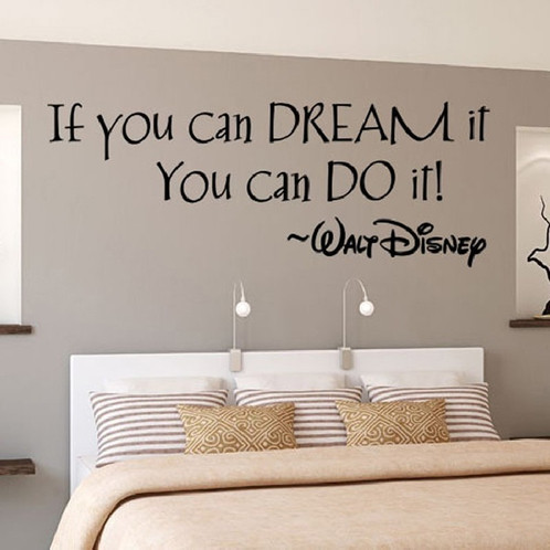 If You Can Dream It You Can Do It Wall Mural