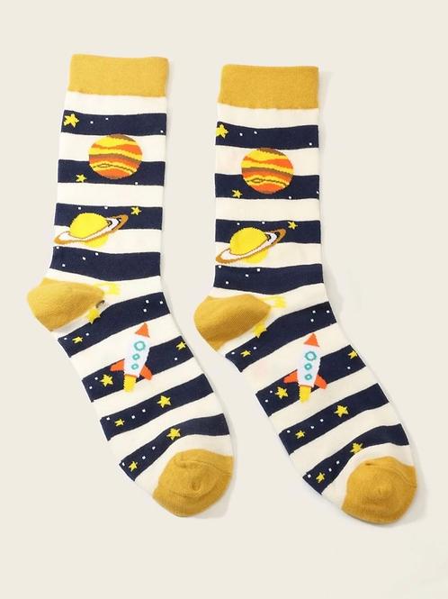 Calcetines para hombre planetas 🪐