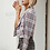 Thumbnail: Simplee Blazer Tweed Con Botones y Cuadros