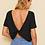 Thumbnail: Camiseta Corta Sólida De Espalda Girante