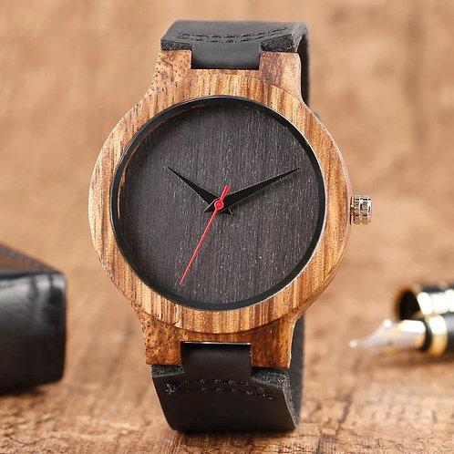 Reloj para hombre de lujo - Bambú natural