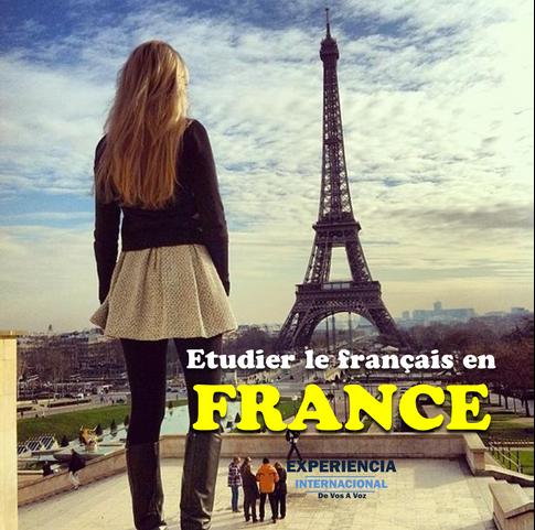 Estudia en Francia