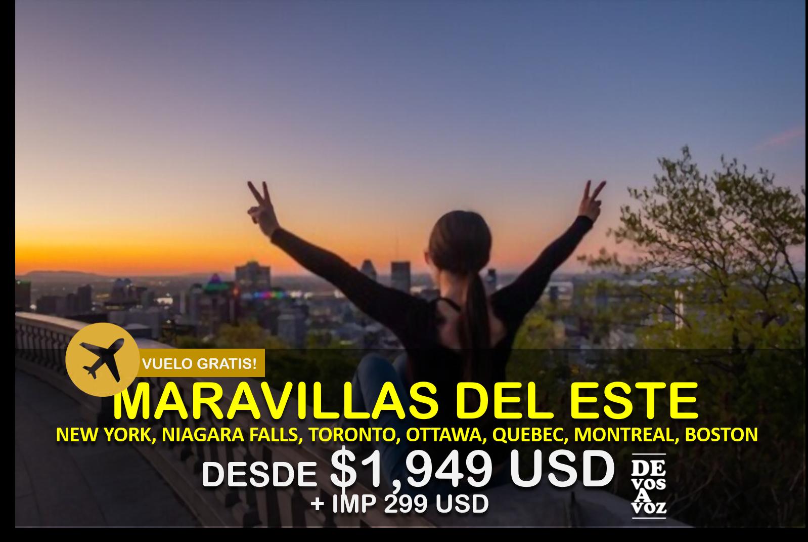MARAVILLAS DEL ESTE