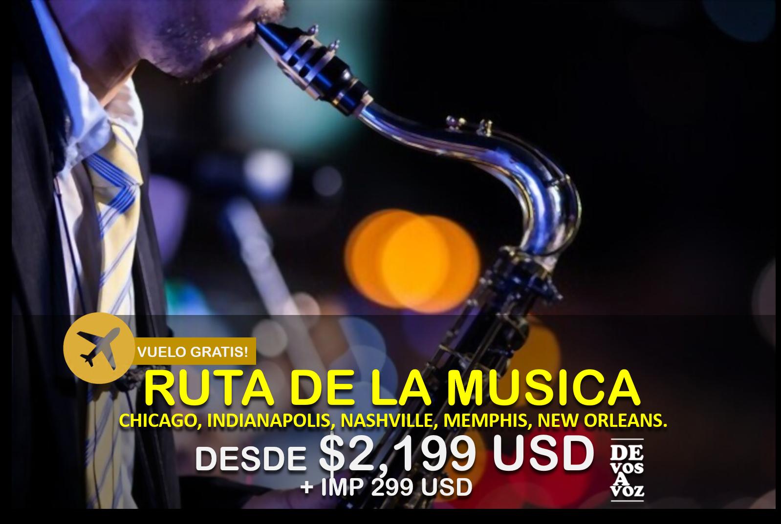 RUTA DE LA MUSICA
