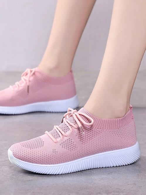 Tenis deportivo rosa