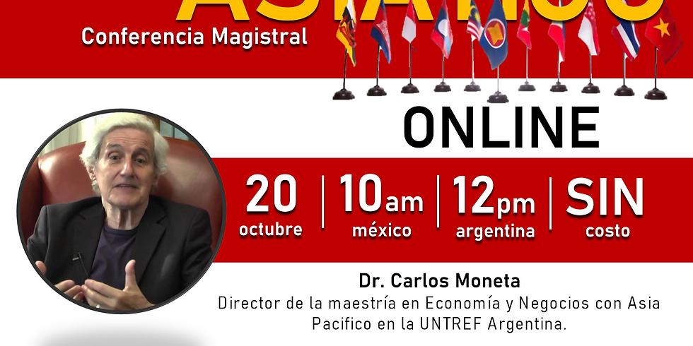 """Conferencia: """"El revés del espejo latinoamericano: El Sudeste Asiático"""""""