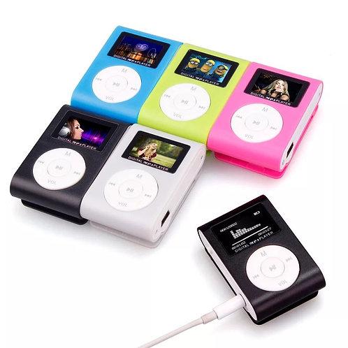 Reproductor MP3 mini pantalla