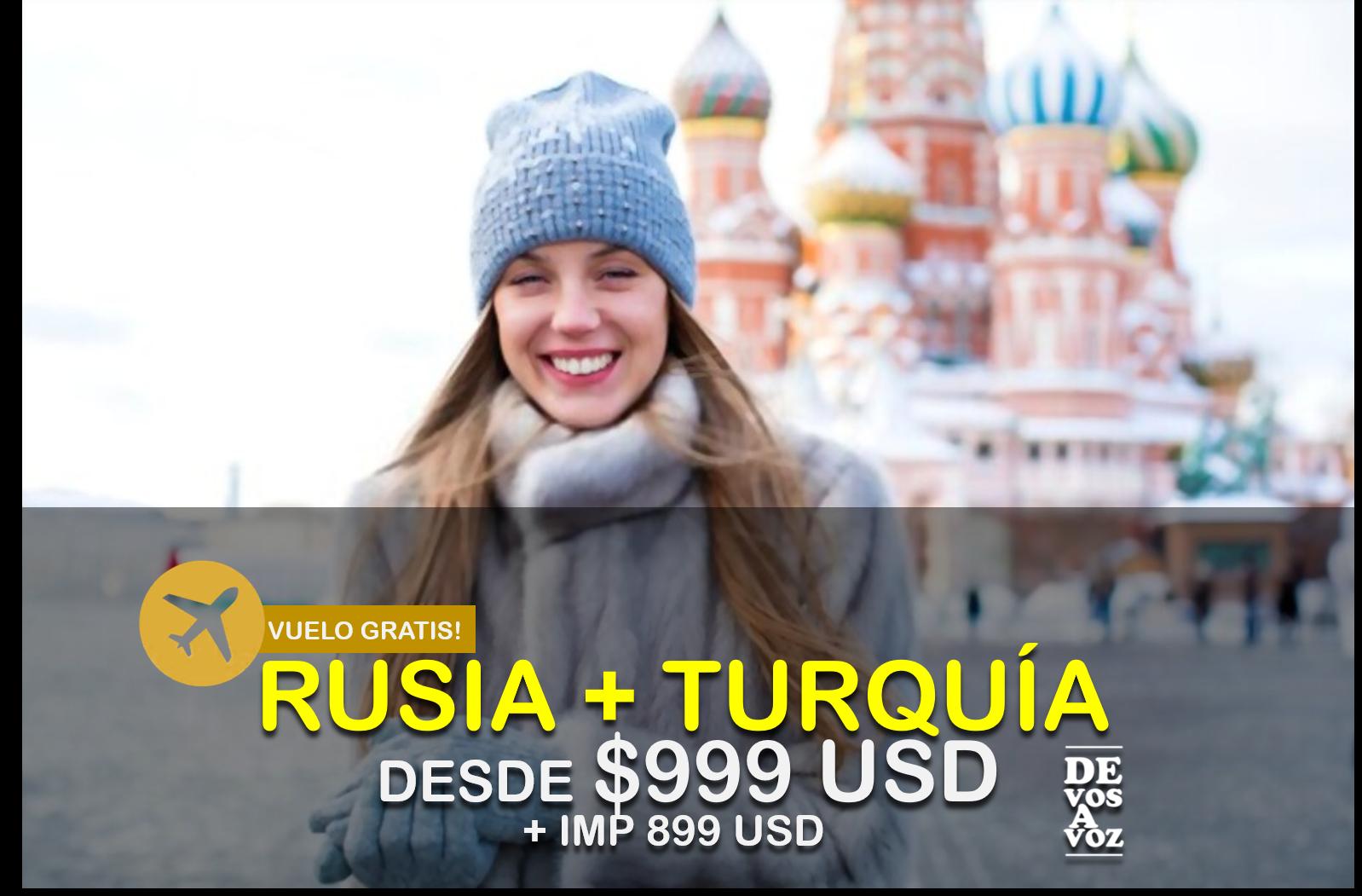 RUSIA + TURQUÍA