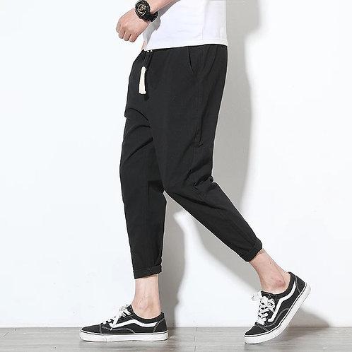 Pantalones de algodón para hombre