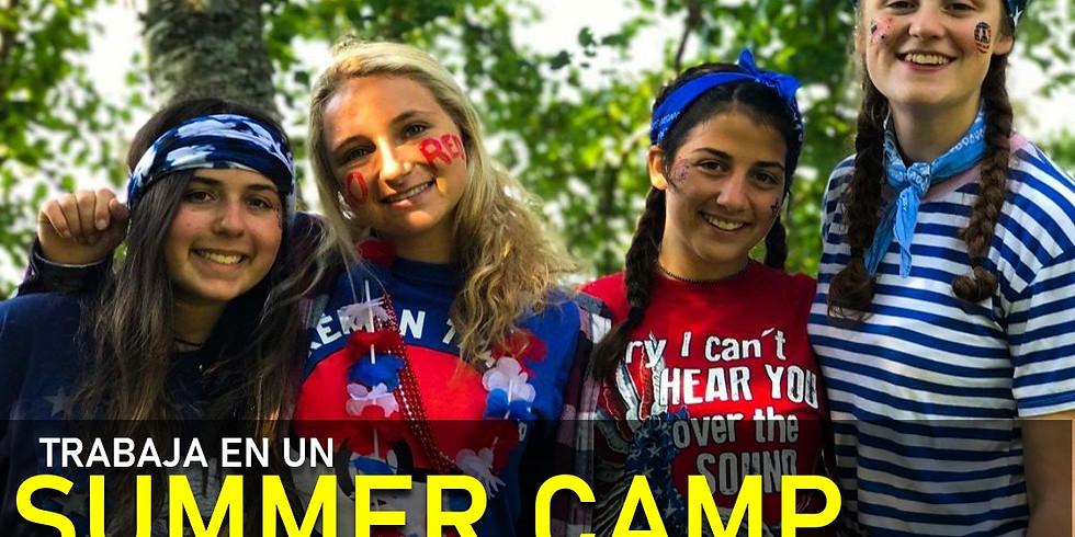 Sesión informativa: Trabaja en un Summer Camp USA