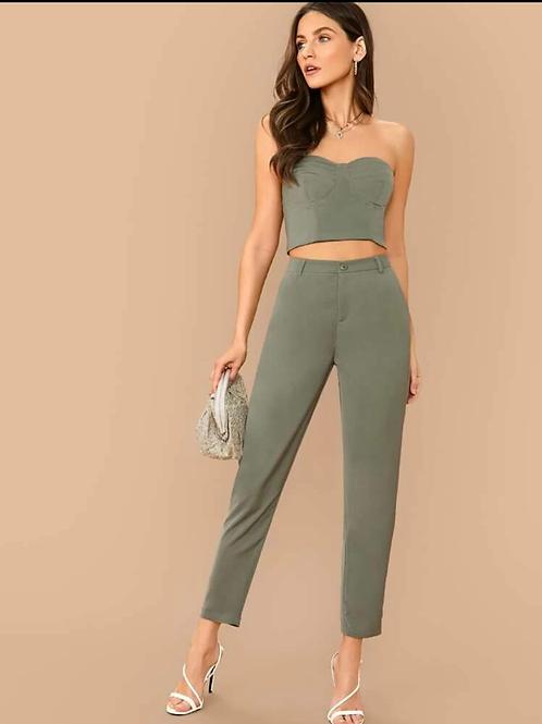 Top + pantalón