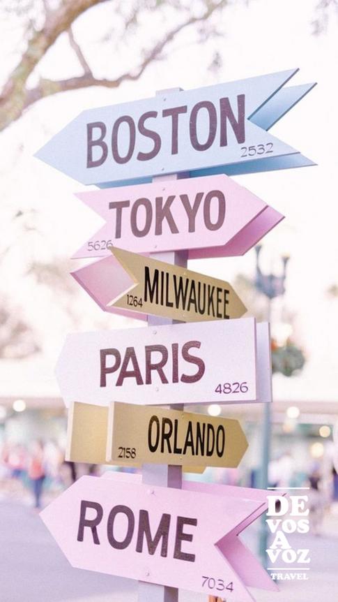A donde quieres viajar?