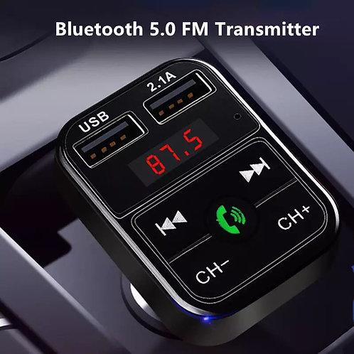 Cargador USB para auto Bluetooth