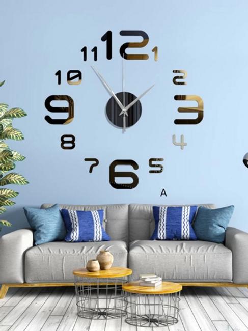 Reloj De Pared De Espejo 1 Pieza 40 cm x 40 cm