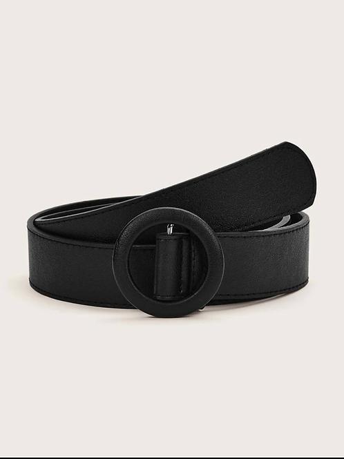 Cinturón con hebilla con aro