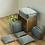 Thumbnail: Set de 6 bolsas de almacenamiento para viajes