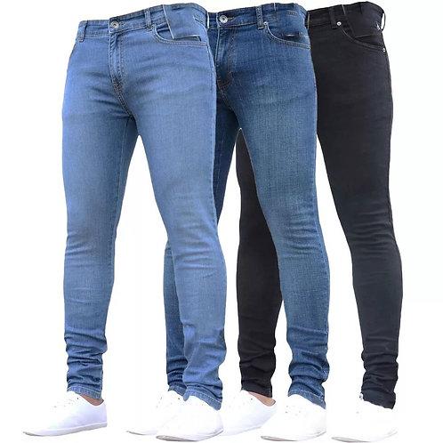 Jeans 👖 ajustados para hombre