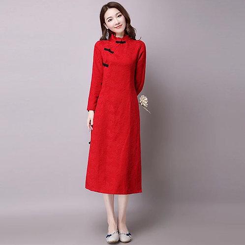 Vestido tradicional Chino - Meditación