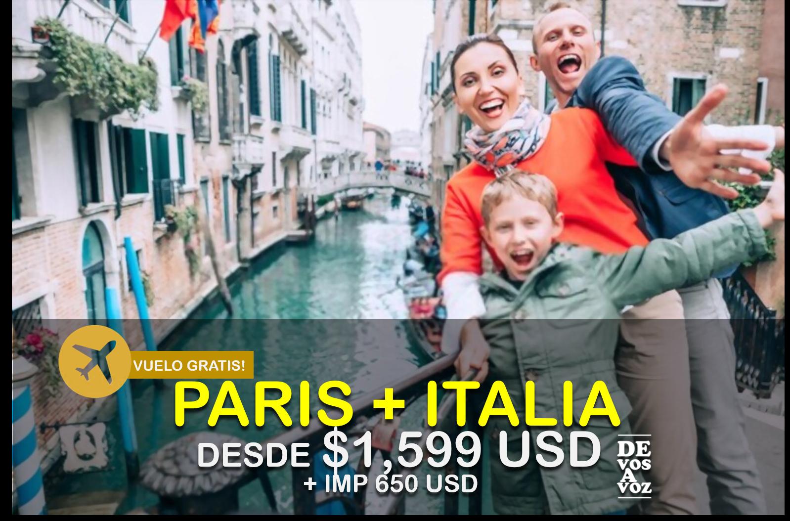 PARIS + ITALIA