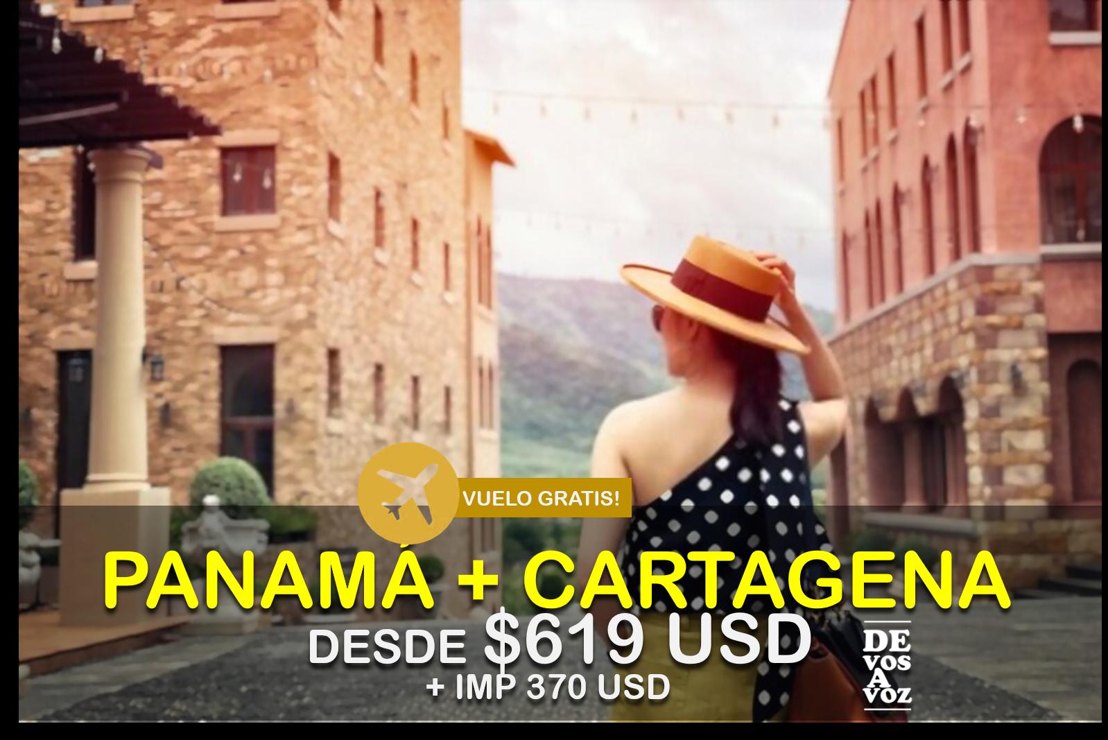 PANAMA + CARTAGENA