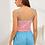 Thumbnail: Conjunto De Pijama De Tirante Con Estampado De Letra