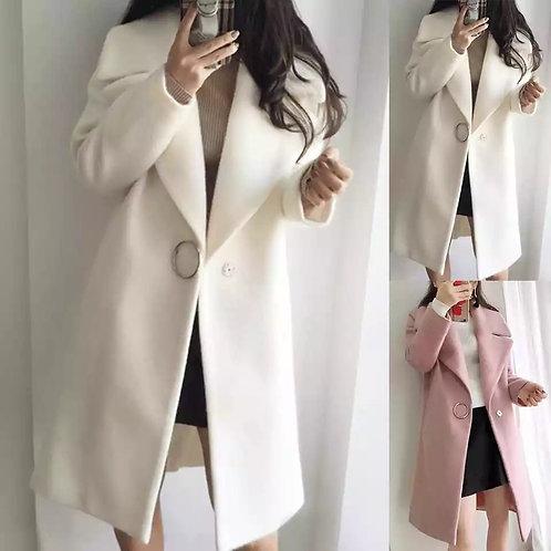 Abrigo largo para mujer