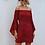 Thumbnail: Vestido de hombros descubiertos