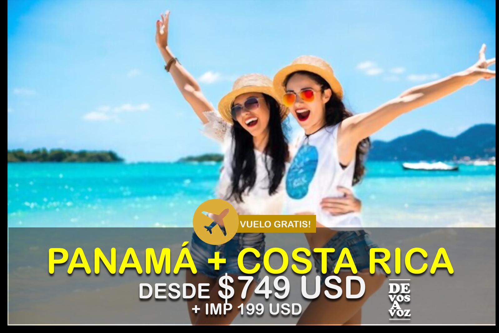 PANAMA + COSTA RICA