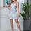 Thumbnail: Vestido floral con ribete