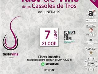 Tast Cassoles de Tros 2019