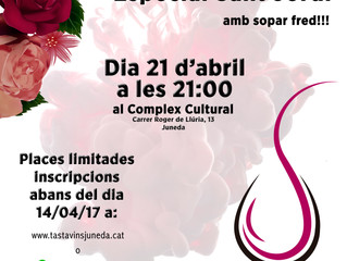 Tast per a dones - Especial St. Jordi
