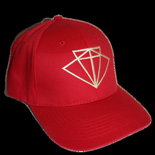 Recycled Baseball cap - Fire