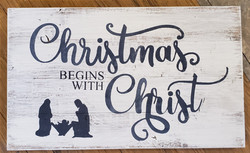 BEGINS WITH CHRIST