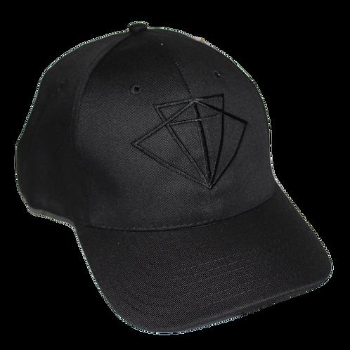 Recycled Baseball cap - Luna Blackout