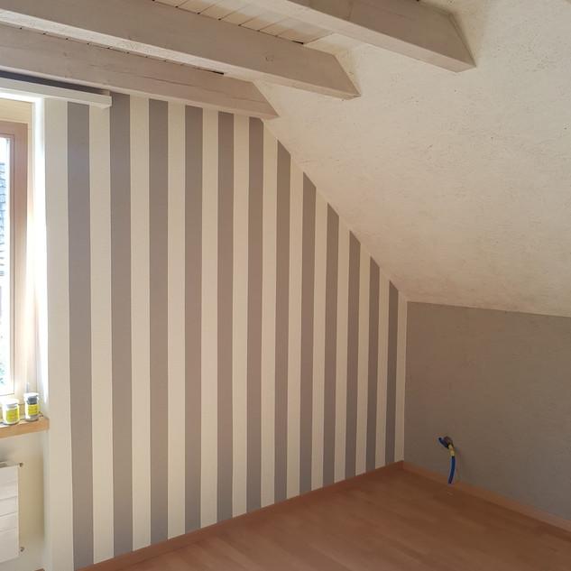 Schlafzimmer Malerarbeiten