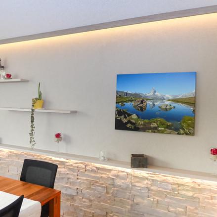 Wohnzimmer Malerarbeiten