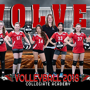 Collegiate Academy Volley Ball 2018