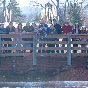 Bomgardners & Family at Hudson Gardens