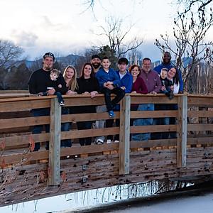 Sandy's Family at Hudson Gardens