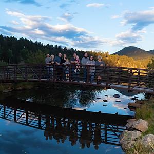 Linda's Family at Evergreen Lake