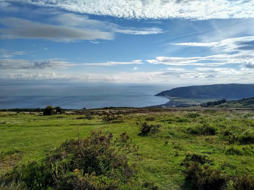 View over Porlock Bay