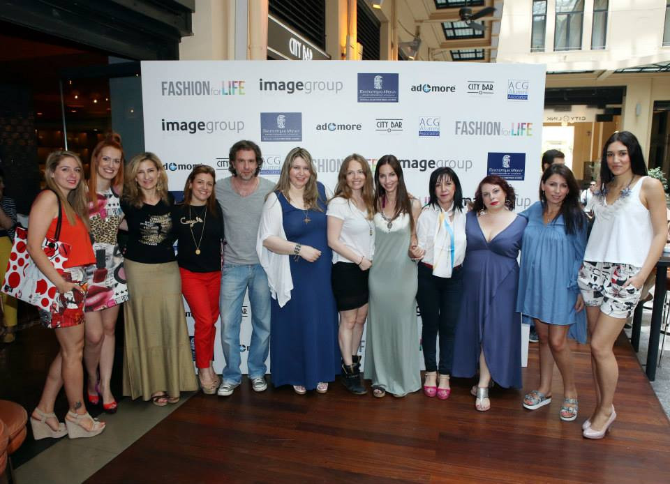 """""""FASHION for LIFE"""" event in June 2015 to benefit the palliative care unit ''Jenny karezi'' of the Medical School - University of Athens"""