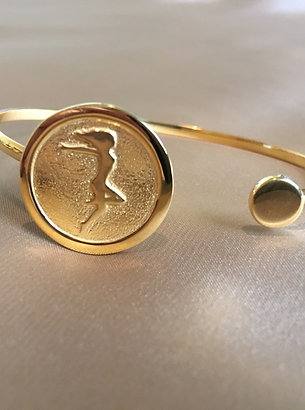 You and The Circle of Life  Bangle Bracelet