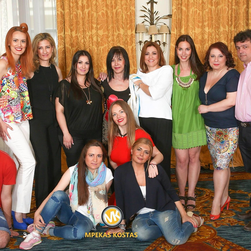 """Photo shooting event of the """" FASHION for LIFE """" Collection in Hotel Grande Bretagne, Athens, May 2015."""