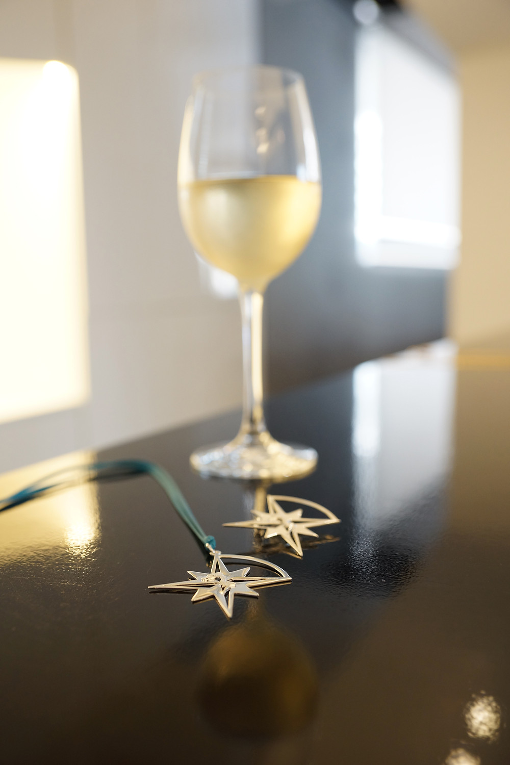 """""""Let The Star Guide you"""" Compass Star Pendant and Brooch"""