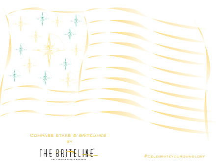 COMPASS STARS & BRITE LINES - Celebrate Your Own Glory