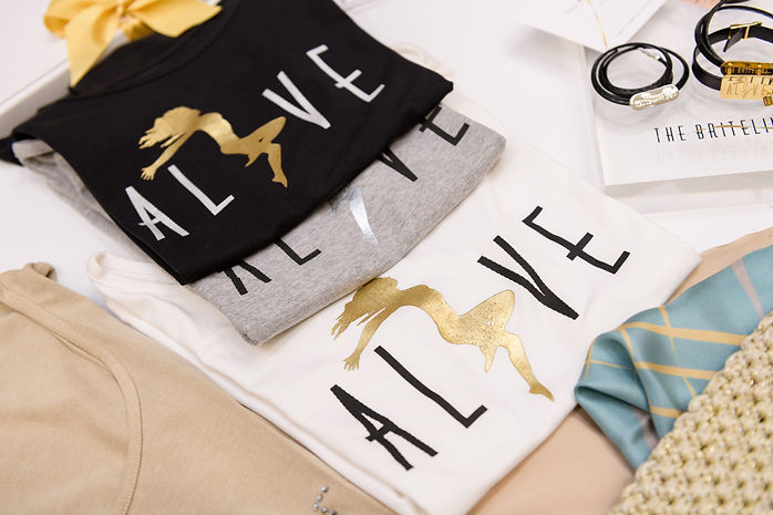 T-Shirt ALIVE by THE BRITELINE®