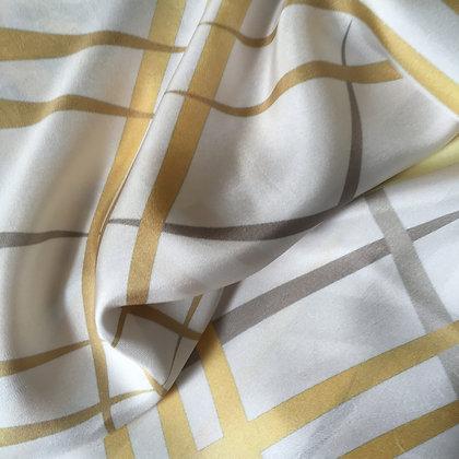 Rays & Waves Silk Foulard