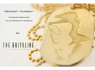 """Reinvent Yourself"" Pendant by THE BRITELINE®"