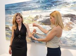 Christina Charokopou Founder & Creative Director THE BRITELINE® Interview in https://www.artviews.gr
